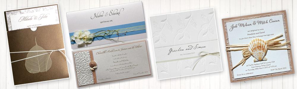 wedding invitations northern beaches