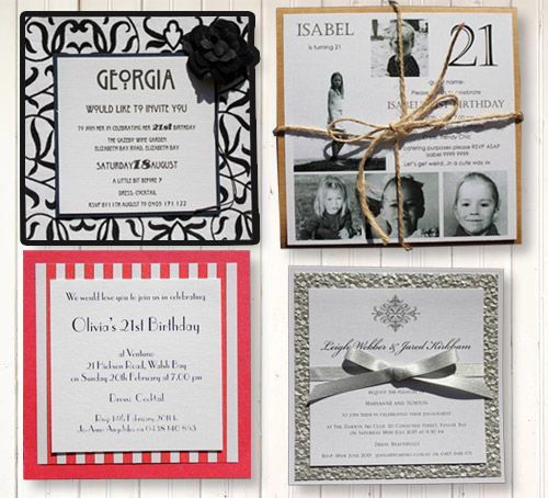 birthday invitations northern beaches