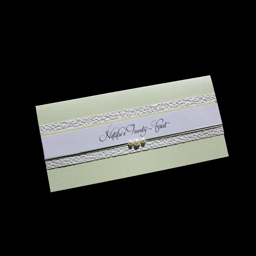Handmade 21st Birthday Invitations - Astijano - Handmade Wedding ...